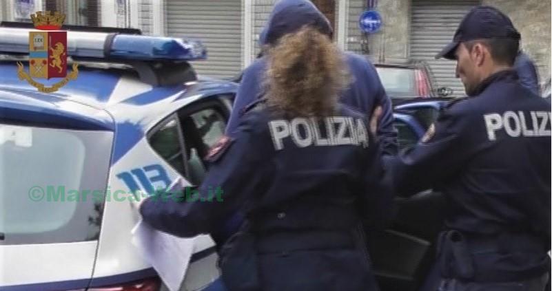 POLIZIA ARRESTO VIOLENZA